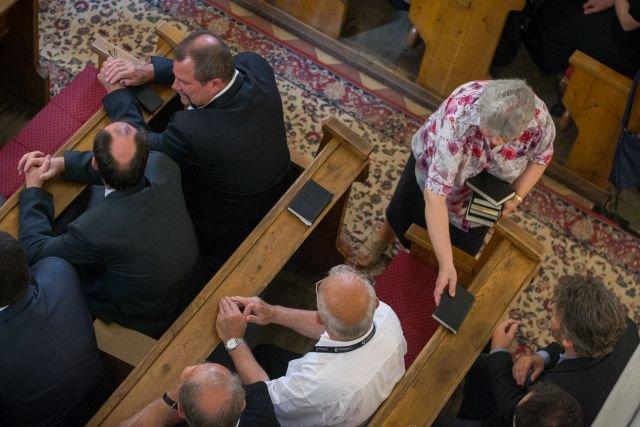 Az egyház lélegzetvétele