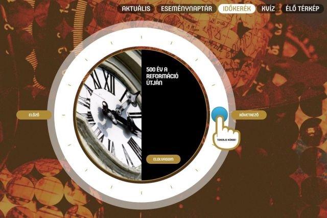 Elindult a református jubileumi honlap