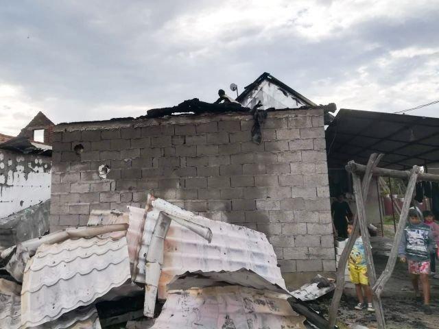 Leégett a nagydobronyi református imaház és óvoda