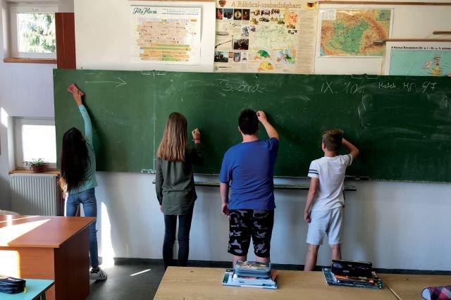 Kis iskola nagy tervekkel