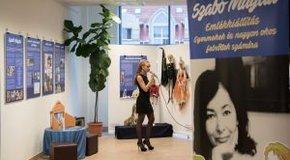 Kép: Szabó Magda emlékére nyílt kiállítás Debrecenben