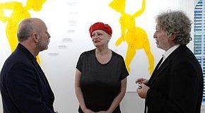 Kép: Szép Ernő-díjat kapott Visky András