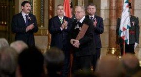 Kép: Reformátusokat is díjaztak a nemzeti ünnepen
