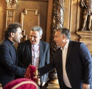 Kép: Prime Minister Viktor Orbán received leaders of Syrian Reformed Churches