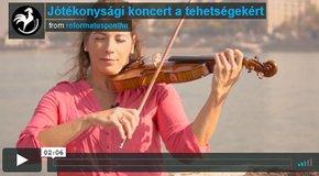 Kép: Jótékonysági koncert a tehetségekért