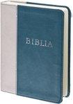 PU Biblia sötétzöld