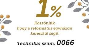 Kép: A NAV tájékoztatása az adó 1% felajánlásáról