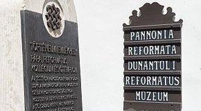 Kép: Pápai református helyszínek a nemzeti emlékhelyek között