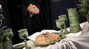 Kép: Krisztus kenyere és bora
