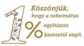 Kép: Ismét emelkedett az egyházunknak felajánlott adó 1% összege