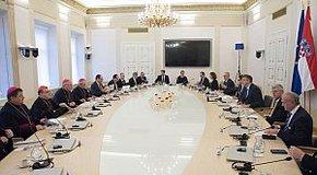 Kép: A horvát EU-elnökséggel egyeztettek az európai egyházak