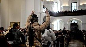 """Kép: """"Krisztus gyülekezetében nincs helye kasztoknak"""""""