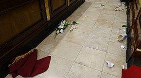 Kép: Betörtek a debreceni Nagytemplomba
